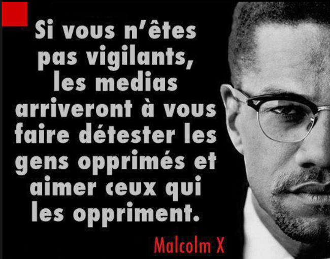Malcolm x en une phrase les aza subversifs for Malcolm x fenetre
