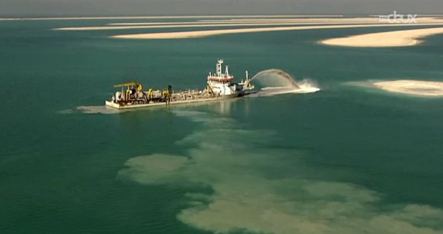 La guerre du sable entre Singapour et ses voisins