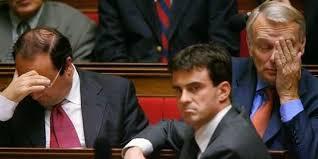 "Hollande, Valls, Ayrault en plein ""brain storming"""