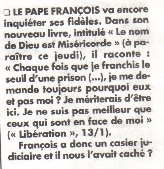 pape françois miséricorde