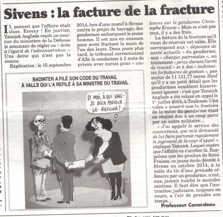 sivens facture