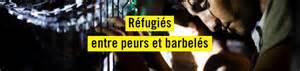 réfugiés barbelés