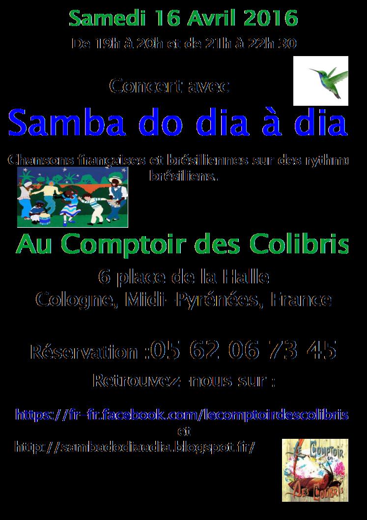 affiche samba do dia à dia