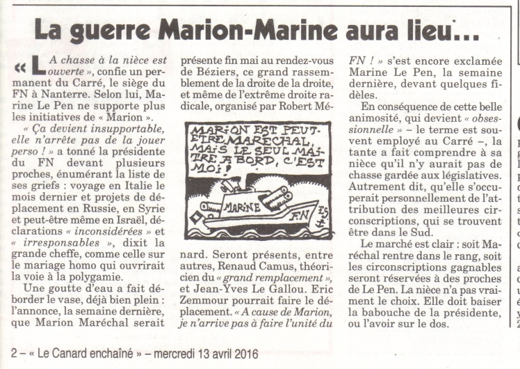 guerre marion marine