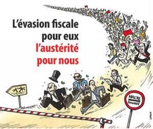 evasion fiscale caricature