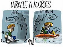 miracle à lourdes