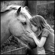 petite fille cheval